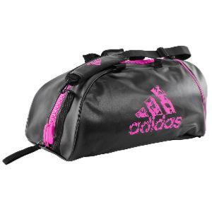sac adidas rose et noir
