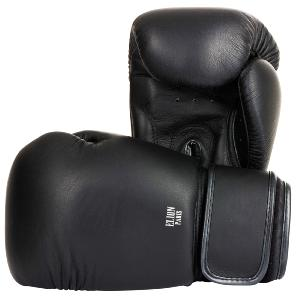 Gants de Boxe Cuir Collection Paris Elion Noir 10 Oz
