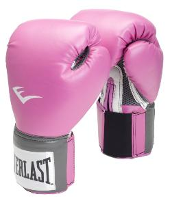 Gants de boxe rose Everlast