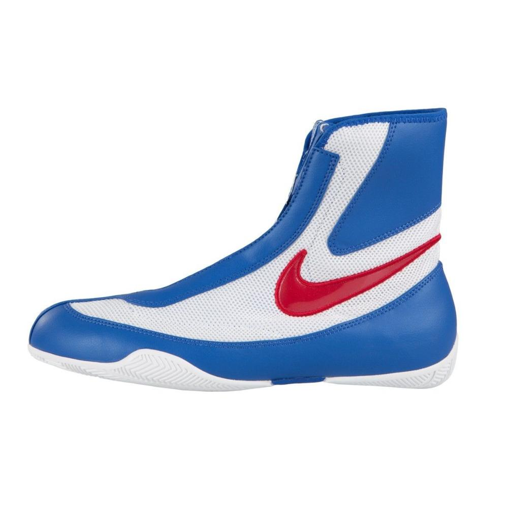 arrives buy buying new Chaussures de Boxe Anglaise Nike Machomai Bleu/Blanc/Rouge 8.5