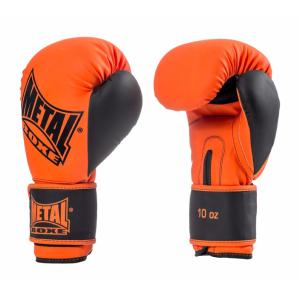 Gants de boxe Metal Boxe Iron Orange/noir 8 Oz