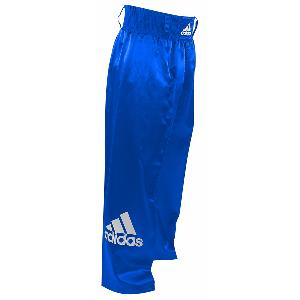 Pantalon satin full contact adidas bleu PFC03