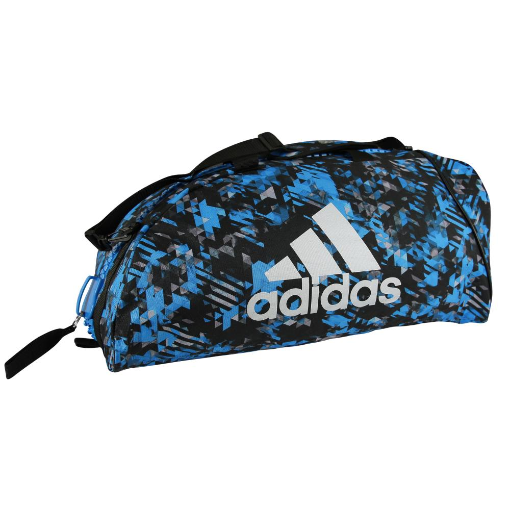 genuine shoes online for sale wholesale Sac de sport Adidas combat Camo Large Bleu