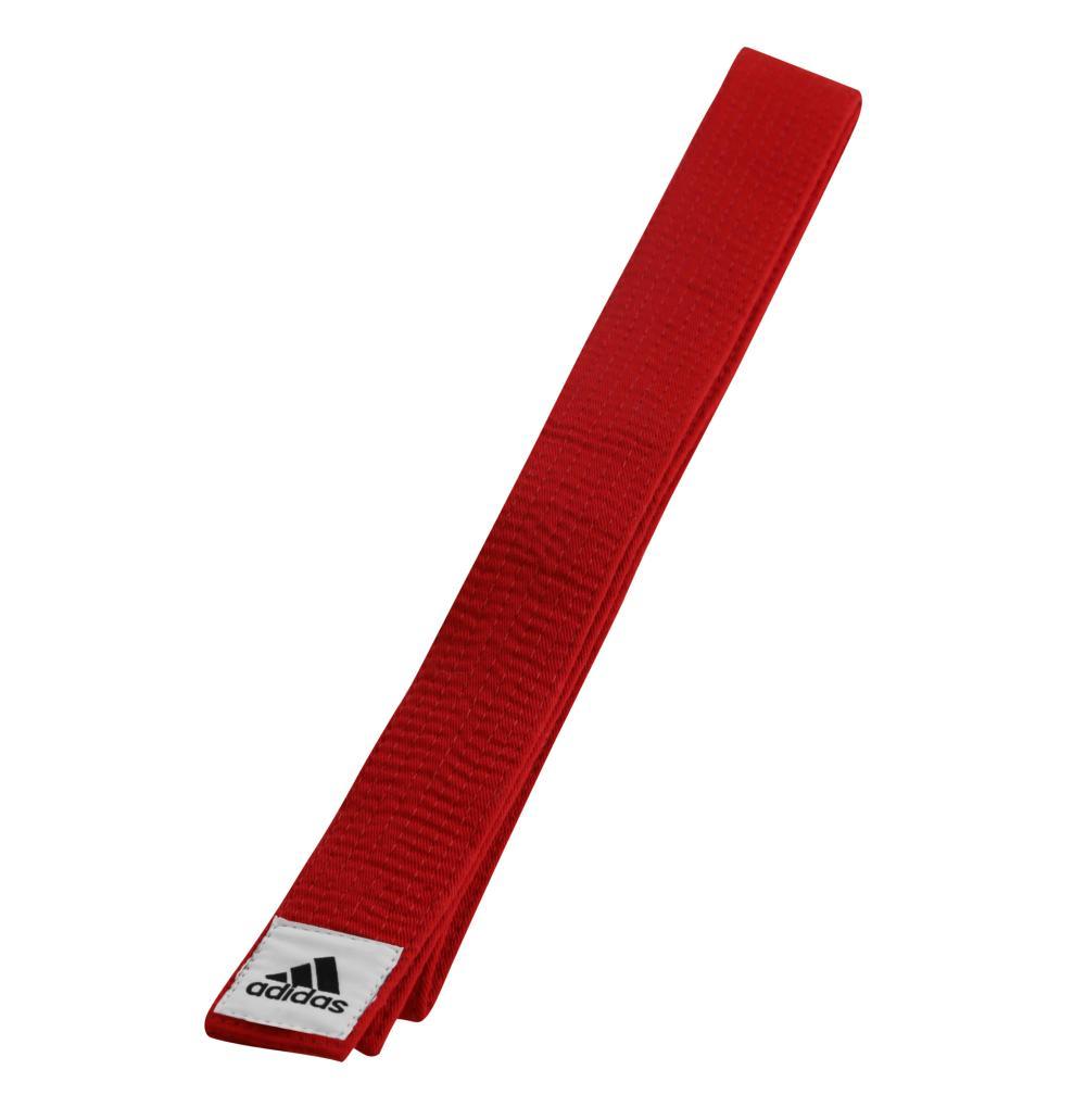 06813c3ed0d6 Sur ceinture compétition Adidas rouge 160 cm