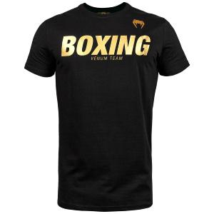 T-shirt Venum Boxing VT - Noir/Or XL