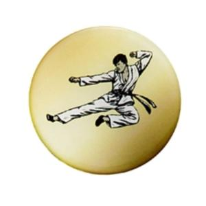 Centre autocollant Epoxy Karate 50 mm