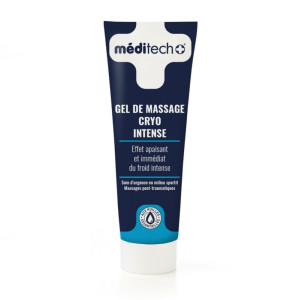 Gel de massage cryo choc 250 ml - Méditech