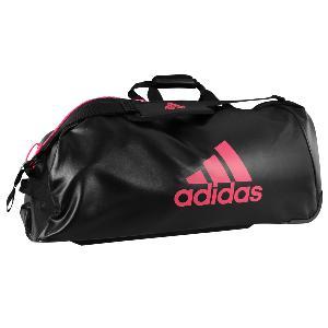 53c5bc8b4e Sac Adidas Combat Sport à roulettes Noir/Rose