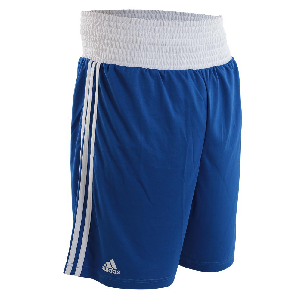 Short de boxe anglaise Punch Line Adidas Bleu XL