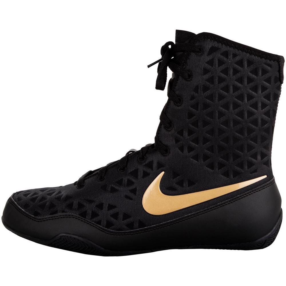 Chaussures de Boxe Anglaise Nike KO NoirOr 8.5