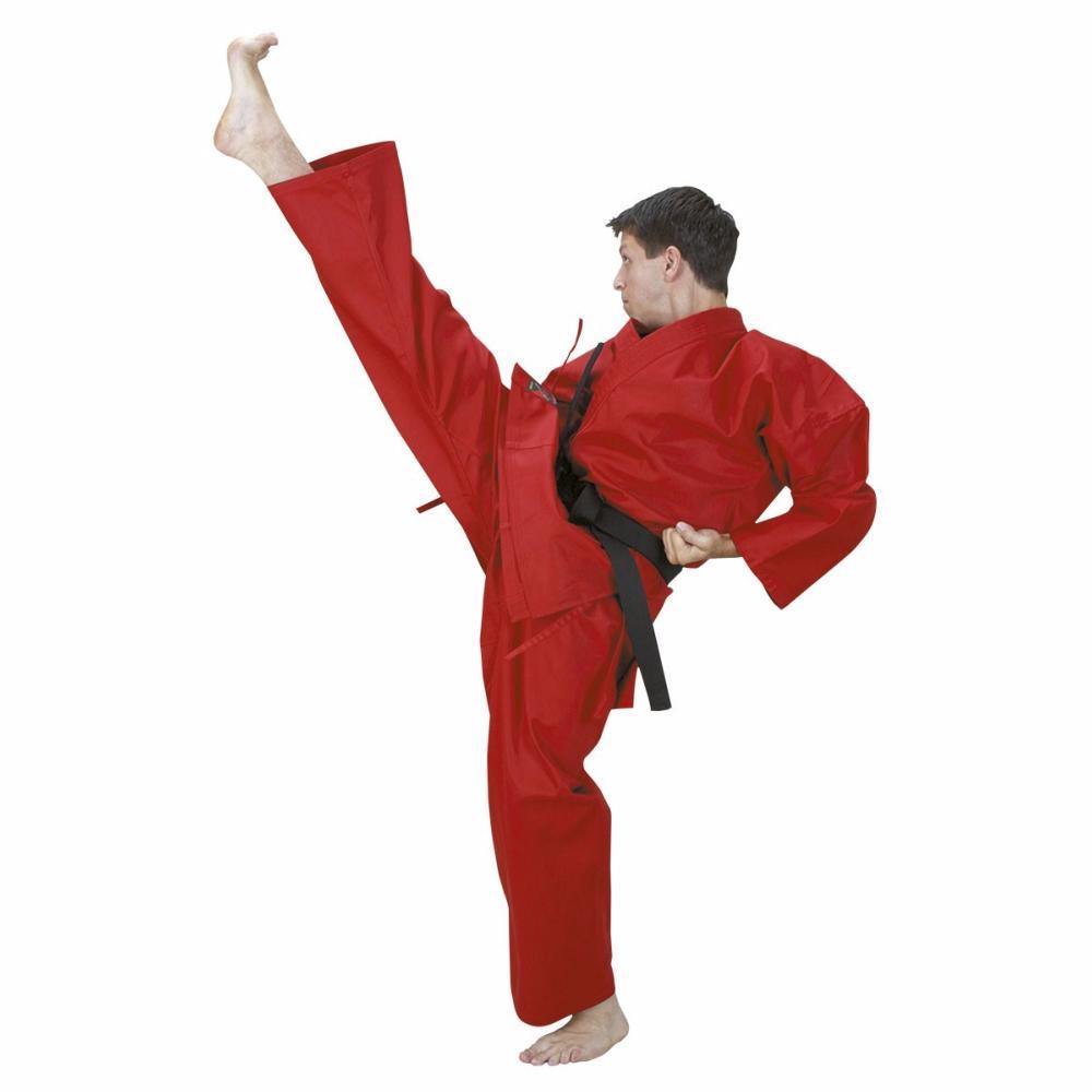 Kimono De Karate Rouge Boutique Des Arts Martiaux