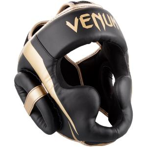 Casque de Boxe Venum Elite - Noir/Or