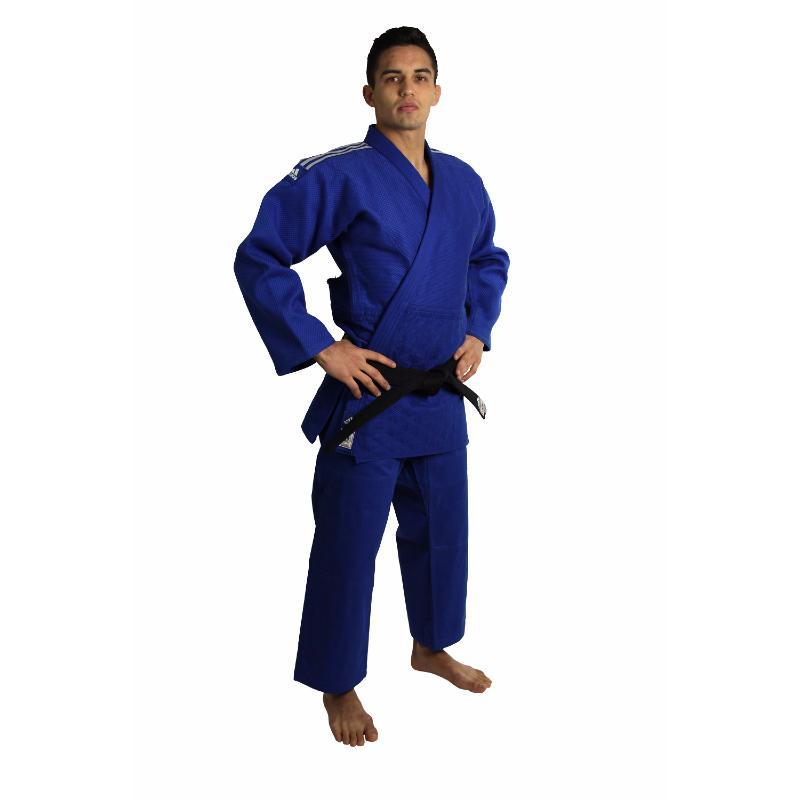 Bleu Judo De Ijf Kimono Fujisport Adidas wfvIn5q