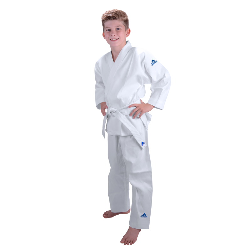 kimono de judo enfant adidas j181. Black Bedroom Furniture Sets. Home Design Ideas