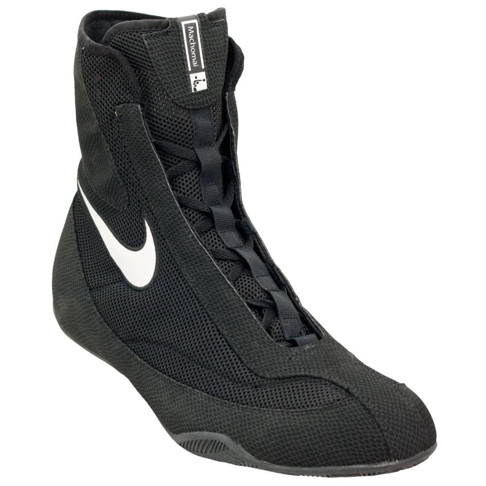 Chaussures de Boxe Anglaise Nike Oly Mid Noir 9.5 (43)