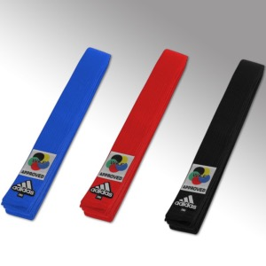 Ceinture Elite Karate adidas  Rouge 340 CM