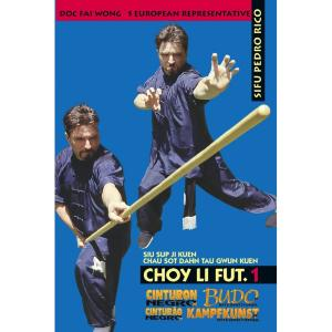 DVD Kung Fu Choy Li Fut Kuen - Budo International