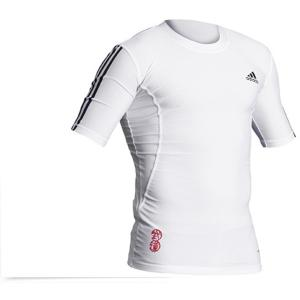 Tee-Shirt rash guard adidas blanc  2XL
