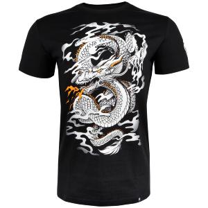 T-shirt Venum Dragon's Flight noir/blanc S